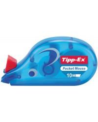 Tipp-Ex Souris, Roller correcteur, Pocket mouse, 4,2 mm x 10 m, 8207892