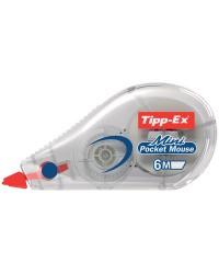 Tipp-Ex Souris, Roller correcteur blanc, Mini Pocket Mouse, 5 mm x 6 m 8221351
