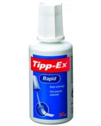 Tipp-Ex Flacon correcteur, Blanc, Pinceau, Rapide, 20ml, 8859932