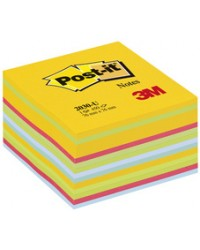 Post it Cube 450 notes adhésives, 76x76mm, ENERGIE LIGHT, BP336