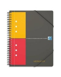 Oxford cahier MEETINGBOOK A4+ 160 pages petits carreaux 5X5 100100362