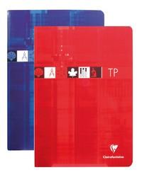 Clairefontaine Cahier, TP travaux pratiques, 17x22mm, 80 pages SEYES/UNI 3727C