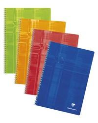 Clairefontaine Cahier à spirale, 17x22mm, Quadrillé 5x5, 224 pages petits carreaux, 8812C