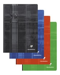 Clairefontaine Cahier A4 210X297, Quadrillé 5x5, Brochure 192 pages petits carreaux, 69142C