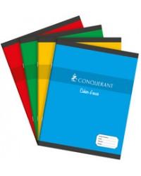 Conquerant Cahier ESSAIS, 17x22, Grands carreaux séyès, 96 pages, 100105224
