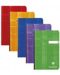 Clairefontaine Carnet brochure, 110x170mm, Quadrillé 5x5, 192 pages petits carreaux, 69602C