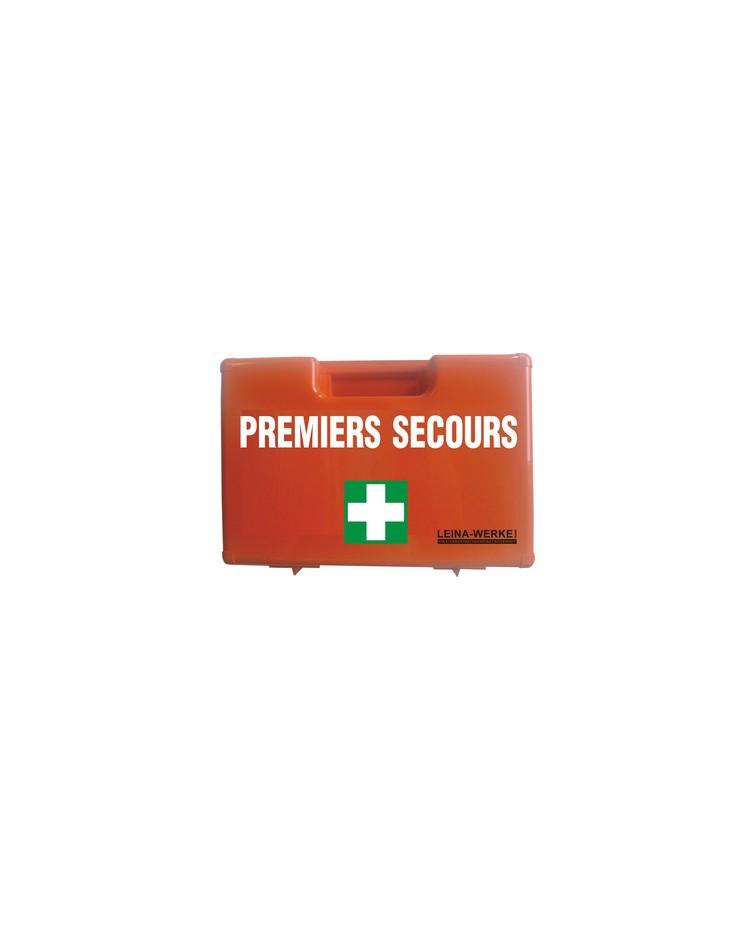 LEINA Mallette de premiers secours, équipé, Norme DIN 13157, 82909