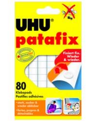 UHU Pâtes adhésives patafix, repositionnable, blanc, 48810