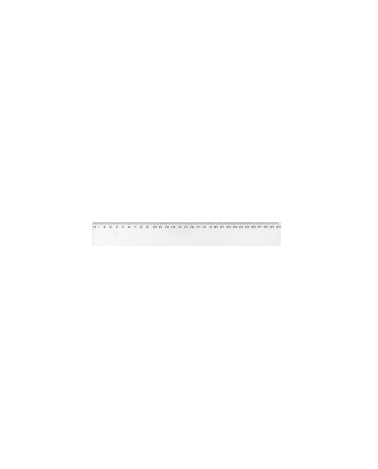 Ref:FTE200062 WONDAY Règle Plate Antitache Graduée Plastique 20 cm