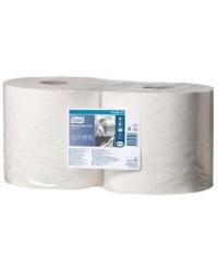 TORK Bobine de papier nettoyant multi-usages, 2 plis, blanc, 255m, 130041