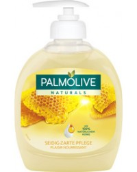 PALMOLIVE Savon liquide Naturals, Lait & miel, 300 ml, 910056