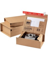 ColomPac Carton d'expédition POSTE, Taille XL, A3+, Marron, CP067.07, 30000275