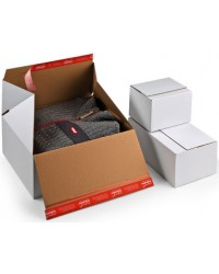 ColomPac Carton à fond automatique Premium, avec fermeture autocollante, CP155.155, 30024986