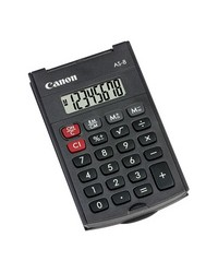 Canon Calculatrice de poche, AS-8, Noir