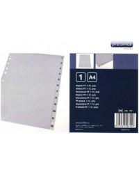 proOFFICE Intercalaires en plastique, numériques, A4, 12 Touches, 00810137