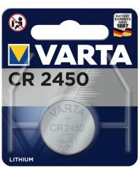 VARTA Pile bouton au lithium, Electronics, CR2450, 3 Volt, 06450 101 401