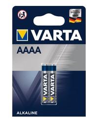 VARTA Pile alcaline, Professional Electronics, AAAA, LR6, 1.5v, 640 mAh, 04061 101 402