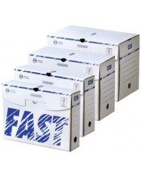 FAST Boîte archives, 250 x 330 mm, Dos 150 mm, Carton, 100725876