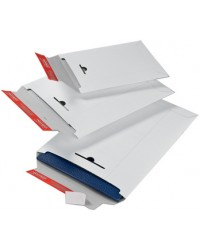 ColomPac Pochette d'expédition, en carton rigide C4, blanc, CP012.05