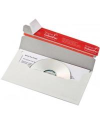 ColomPac Enveloppes pour CD/DVD, Format long, Sans fenêtre, CP040.16