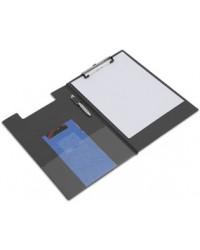 RAPESCO Porte bloc à rabat, Plastifié, A4, noir, VFDCB0B3