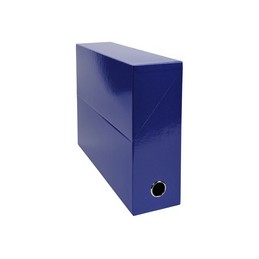 Exacompta Boite de classement, Transfert, Iderama, 95mm, Bleu foncé, 89922E