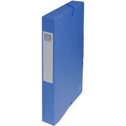 Exacompta boite de classement dos 4 cm en carte EXABOX BLEU 50402E