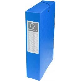 Exacompta Boîte de classement, 60mm, Exabox, Carte, Bleu, 50602E