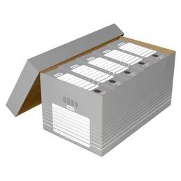ELBA Boîtes a archives, Caisse de transport, Tric, Carton ondulé, 100333273