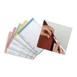 ELBA l'oblique, Étiquettes pour dossiers suspendus, Nr. 0, Tiroir AZV, Assorti, 100330192