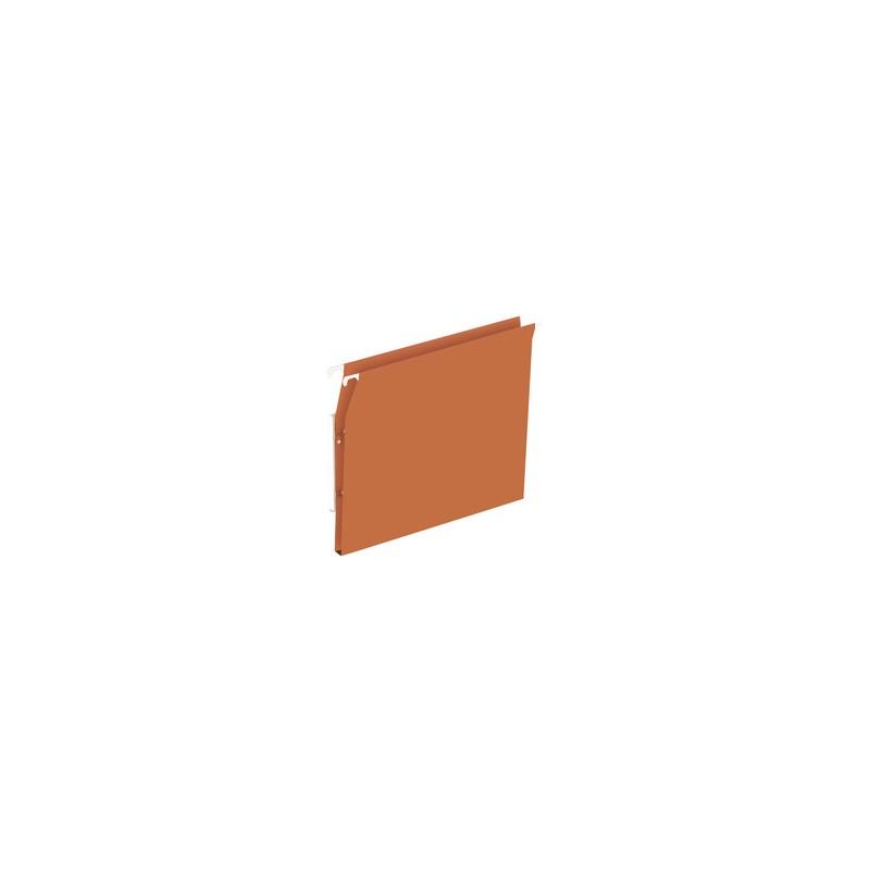 ELBA Dossiers suspendus DEFI FLEX, Armoire, Fond 15 mm, Kraft, Orange, 400126816