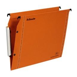 Esselte Dossiers suspendus LMG, Armoire, Fond 15mm, Kraft, Orange, 49924