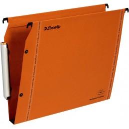 Esselte Dossiers suspendus LMG, Armoire, Fond 30mm, Kraft, Orange, 49925