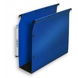 Elba Dossiers suspendus, Armoire, Fond 80mm, Plastique polypro, Bleu, 100330582