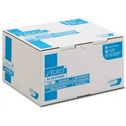 GPV, Enveloppes C5, 162 x 229 mm, Blanches, 90g, Auto adhésives, GPV 4266