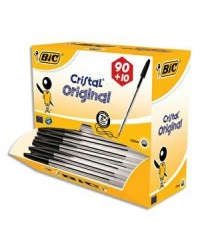 BIC Stylo à bille Cristal Original, VALUE PACK, noir, 942911