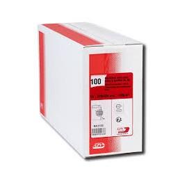 GPV Pochettes a soufflet, C4, Kraft blanc armé, 229x324, 130G, 2133