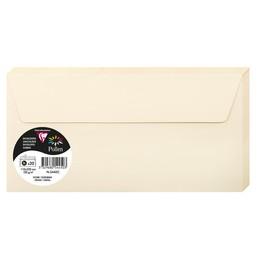 Clairefontaine Enveloppes DL, 110x220, Pollen, Ivoire, 120g, 5445C