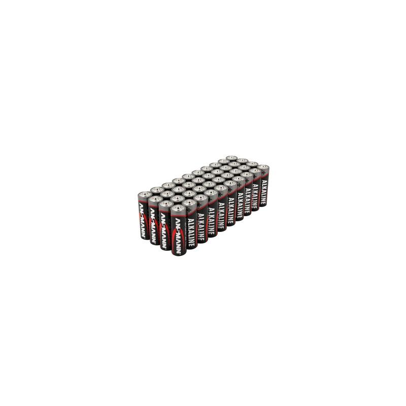 Ansmann, Pile alcaline, Mignon AA, Lot de 40, 5015211-02