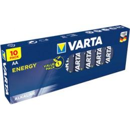 Varta, Piles alcaline, Energy, Mignon AA , LR6, 1.5V, 4106 229 410