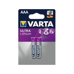 Varta, Piles au lithium, ULTRA LITHIUM, Micro AAA, 06103 301 402