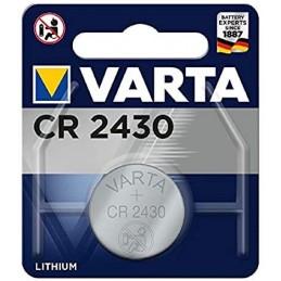 Varta, Pile bouton au lithium, Electronics, CR2430, 3 Volt, 06430 101 401