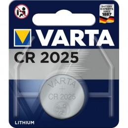 Varta, Pile bouton au lithium, Electronics, CR2025, 3 Volt, 06025 101 401