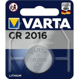 Varta, Pile bouton au lithium, Electronics, CR2016, 3 Volt, 06016 101 401