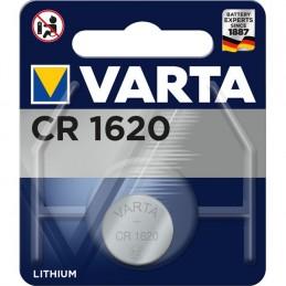 Varta, Pile bouton au lithium, Electronics, CR1620, 3 Volt, 06620 101 401