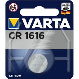 Varta, Pile bouton au lithium, Electronics, CR1616, 3 Volt, 06616 101 401