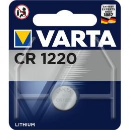 Varta, Pile bouton au lithium, Electronics, CR1220, 3 Volt, 06220 101 401