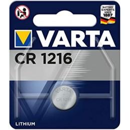 Varta, Pile bouton au lithium, Electronics, CR1216, 3 Volt, 06216 101 401