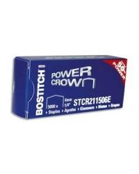 Bostitch boîte de 5000 agrafes  STCR211506Z