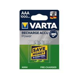 Varta, Pile NiMH, Rechargeable, Accu, Micro AAA, 1.000 mAh, 05703 301 402